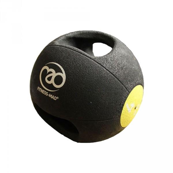 Med Ball 4Kg Dbl - Grip