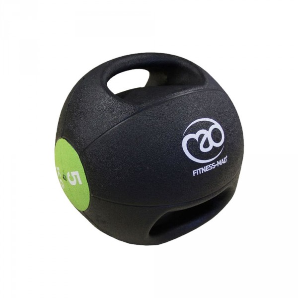 Med Ball 5Kg Dbl - Grip