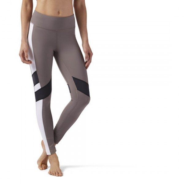 REEBOK LUX LEGGING - COLOR BLOCK
