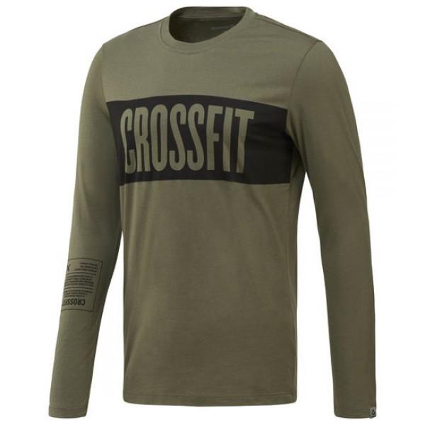 REEBOK CROSSFIT STRIPES LS T-SHIRT