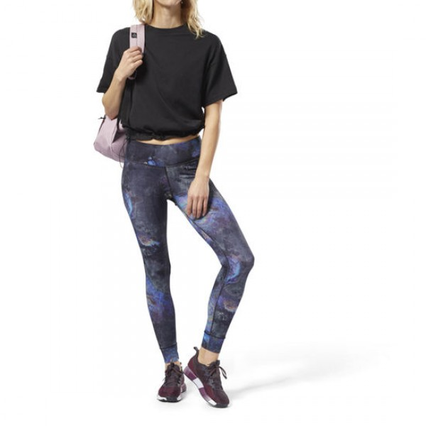 LUX BOLD LEGGINGS - OIL SLICK