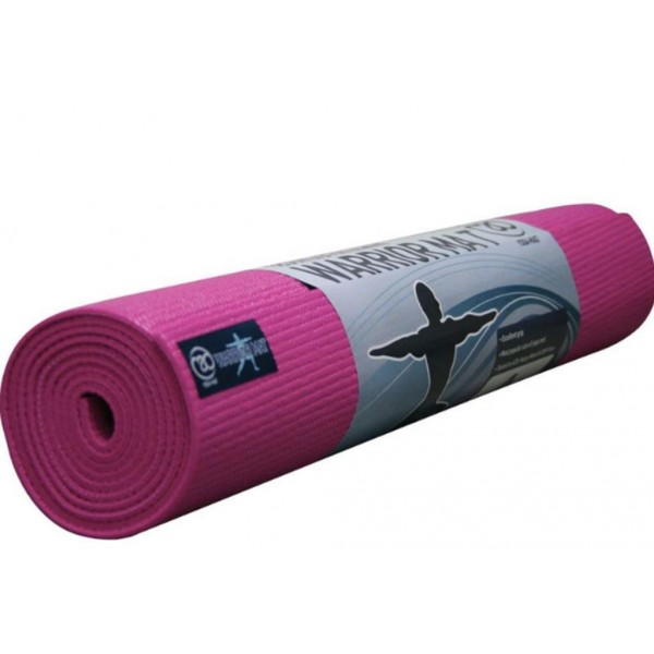 Warrior Yoga Mat 4mm bleik